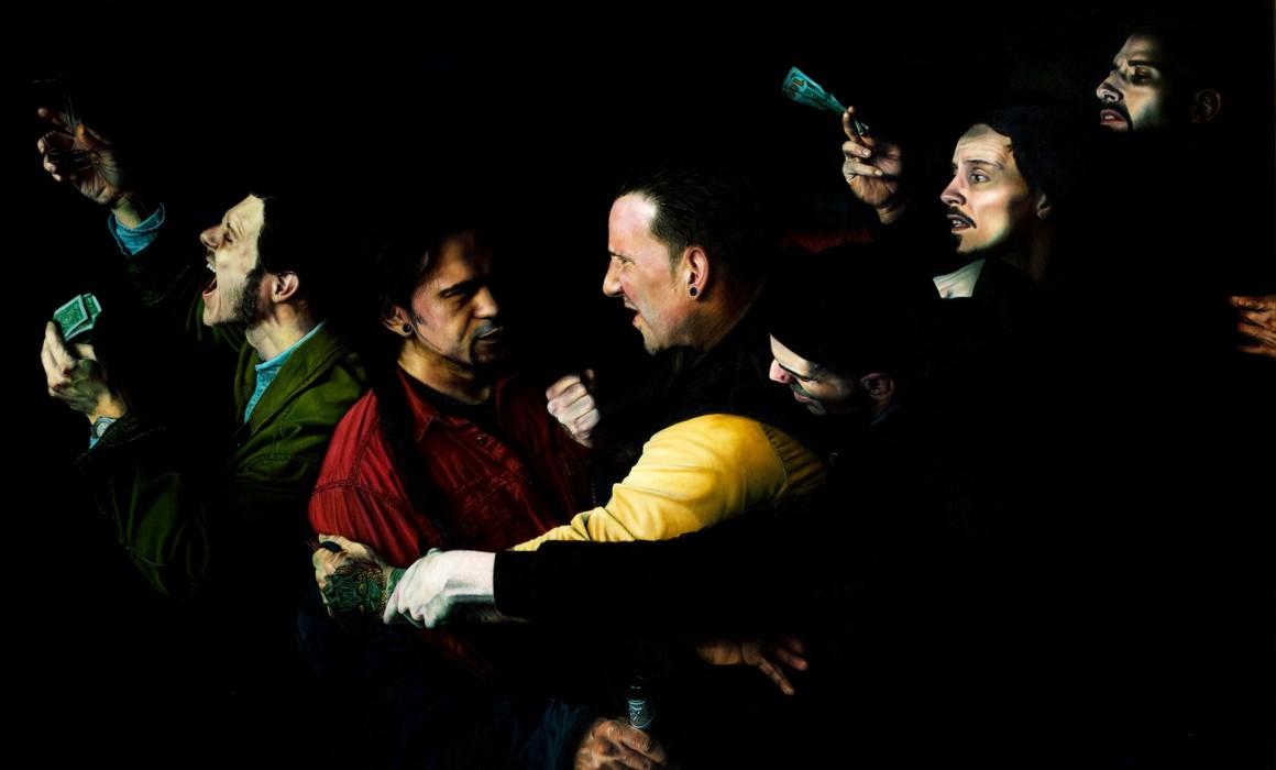 Judas'-Behavior-Russ-Ritell-Oil-Painter